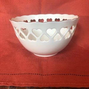 Lenox Hearts and Flowers Bowls